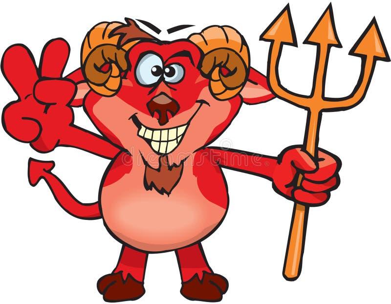 дерзкий дьявол бесплатная иллюстрация
