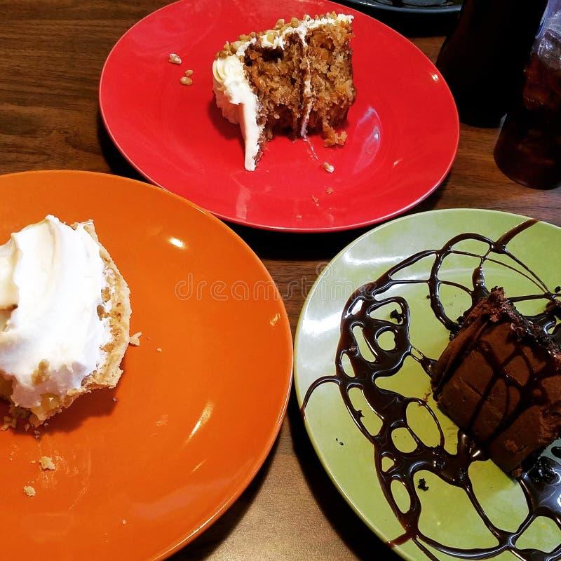 Десерты стоковое изображение rf