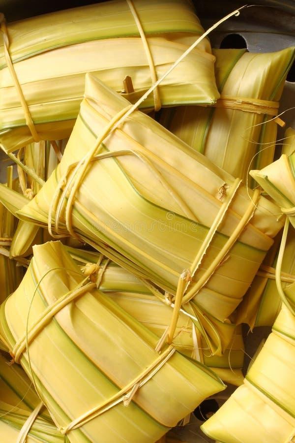 десерт банана сделал тип риса тайской стоковое фото