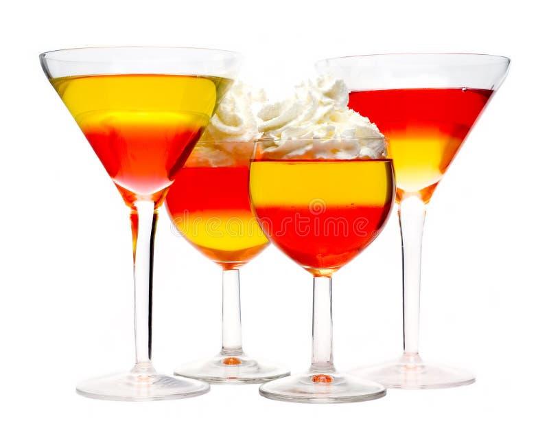 десерт коктеила стоковые изображения rf