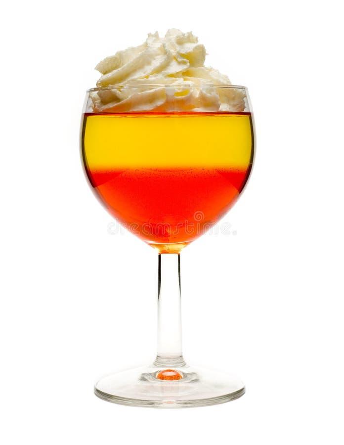 десерт коктеила стоковая фотография