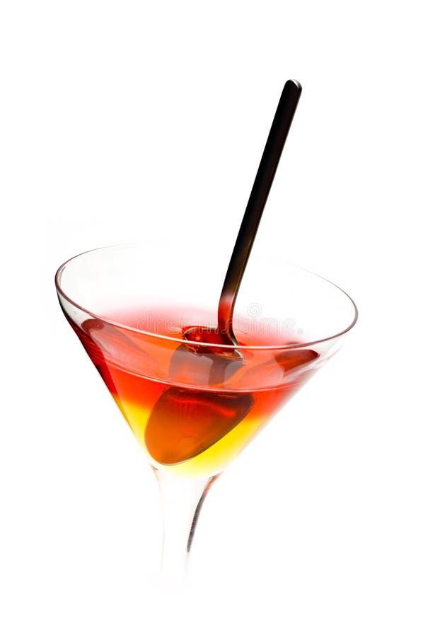 десерт коктеила стоковое изображение rf
