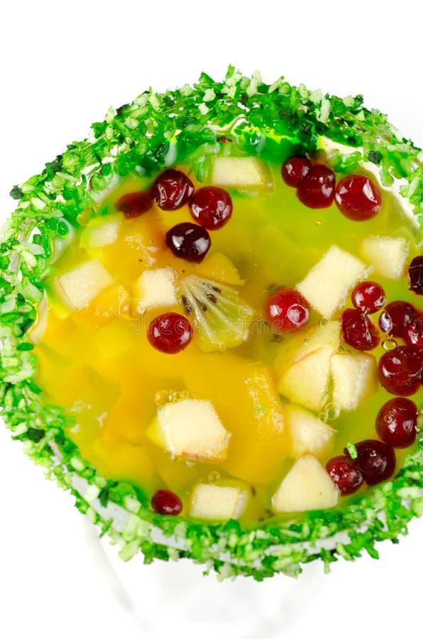 Десерт студня плодоовощ стоковая фотография