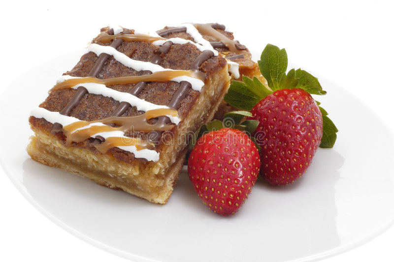 десерт хруста карамельки стоковое фото rf
