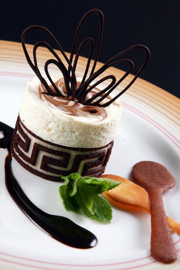 десерт шоколада стоковая фотография