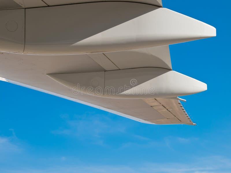 детализирует крыло белизны громоздк стоковые изображения rf