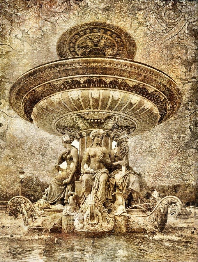 детализирует парижское иллюстрация штока