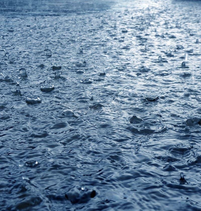детализируйте улицу дождя стоковая фотография rf
