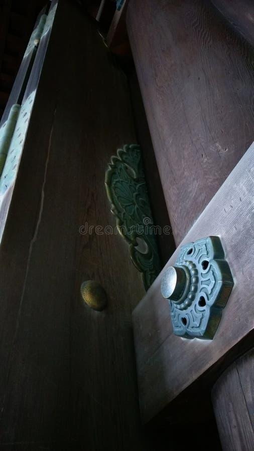 детали двери стоковая фотография