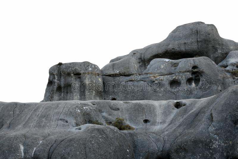 Детали камней на Касл Хилл стоковые фото