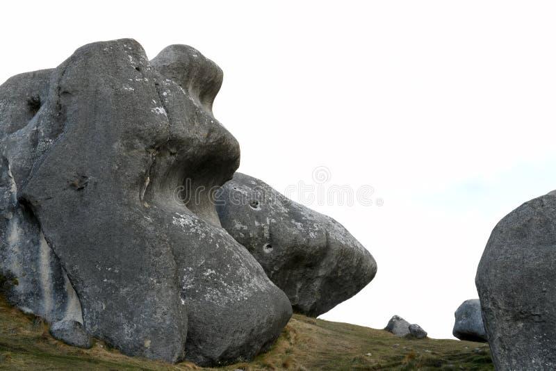 Детали камней на Касл Хилл стоковые изображения