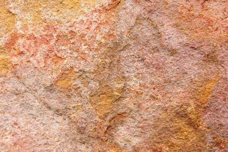 Детали предпосылки текстуры камня песка Предпосылка текстуры песчаника Брауна Красивая текстура камня песка стоковая фотография rf