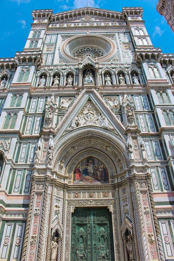Детали собора Флоренс, церковь в Италии стоковые фото