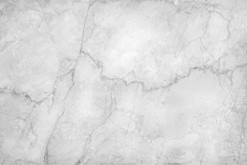 Детальная старая белая или серая мраморная предпосылка картин текстуры пола стоковое изображение rf