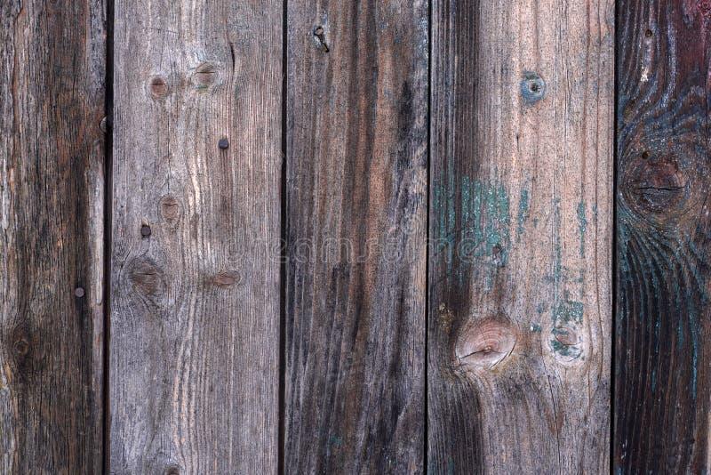 Детальная старая составленная деревянная предпосылка планок стоковое изображение rf