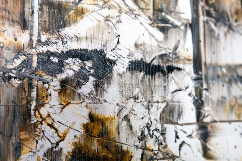 деталь абстрактного искусства стоковое изображение rf