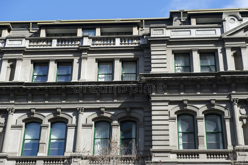 Деталь архитектуры здания в Австралии стоковое фото