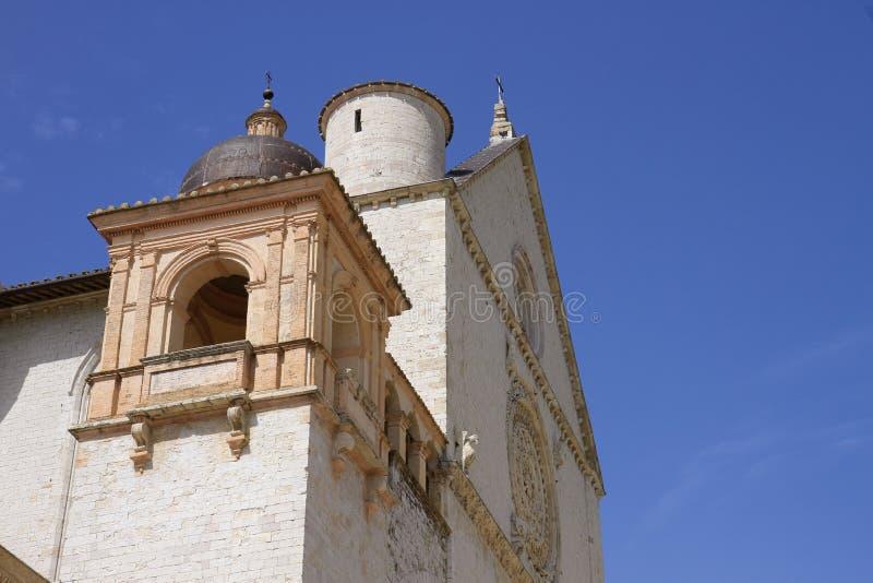 Деталь базилики Св.а Франциск Св. Франциск Assisi стоковая фотография rf