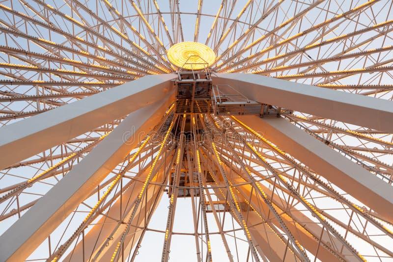 Деталь большого колеса ferris стоковые изображения