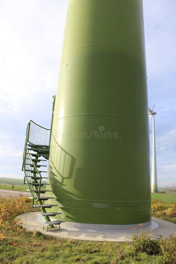 Деталь ветротурбины стоковое изображение rf