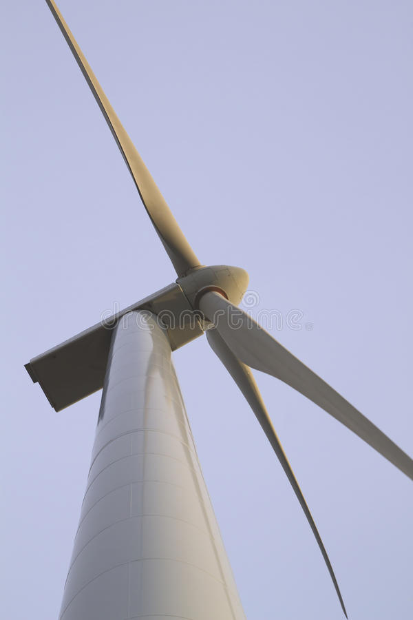 Деталь ветротурбины стоковые фотографии rf