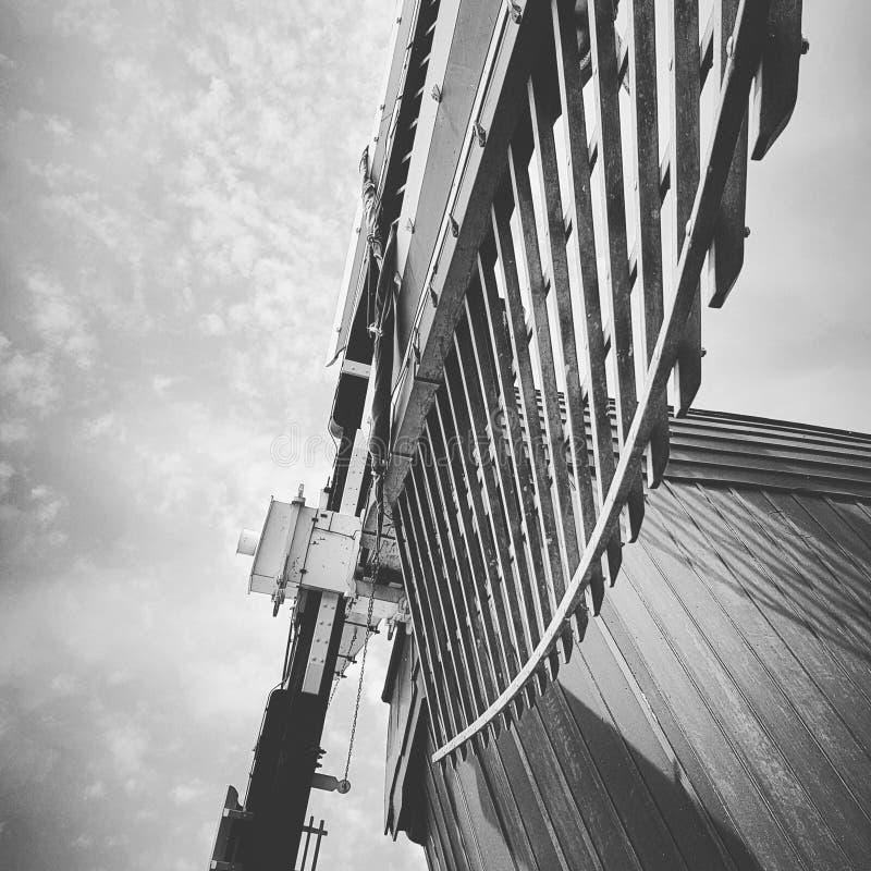 Деталь ветрянки стоковая фотография