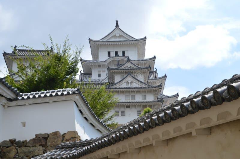 Деталь замка Японии Himeji стоковое изображение rf