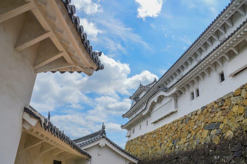 Деталь замка Японии Himeji стоковое изображение