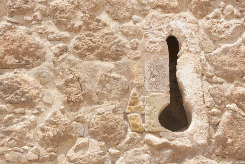 деталь замока atalaya стоковые изображения rf