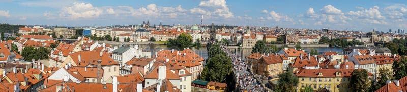 Деталь здания замка Праги стоковое фото rf