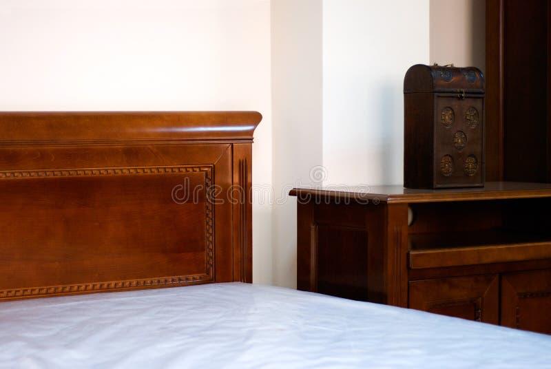 деталь классики спальни стоковая фотография rf