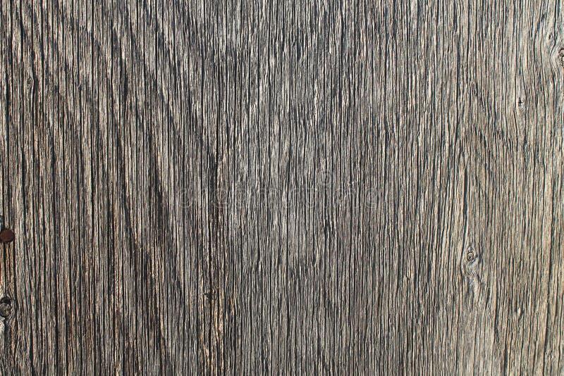 Деталь крупного плана выдержанной текстуры предпосылки серого деревянного зерна горизонтальной стоковые фотографии rf