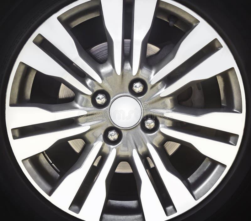 Деталь оправы сплава автомобиля стоковые изображения rf
