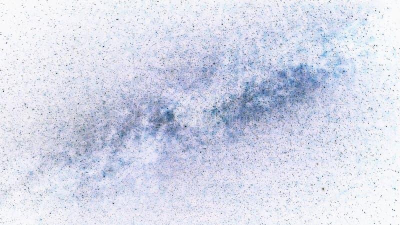Деталь от конспекта звезд млечного пути на белой предпосылке стоковое фото rf