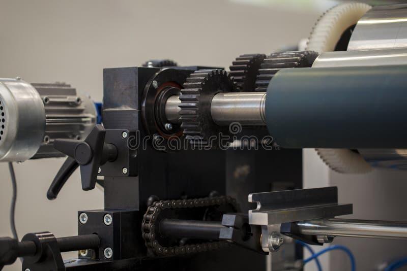 Деталь печатного станка стоковое фото