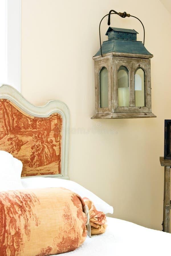 деталь спальни стоковое фото rf