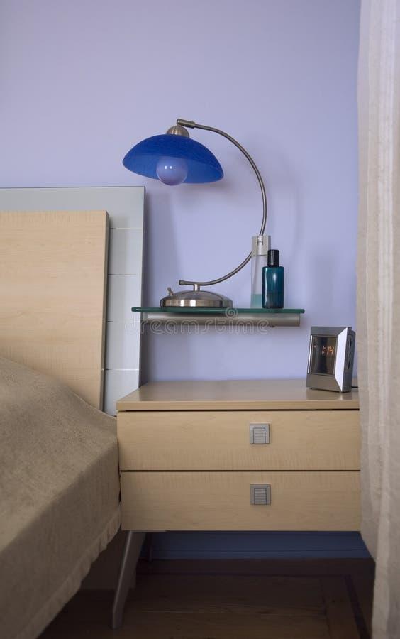 деталь спальни стоковая фотография rf