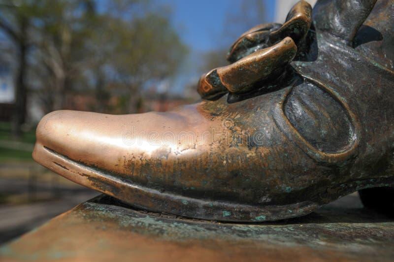Деталь статуи Гарвард стоковые фотографии rf