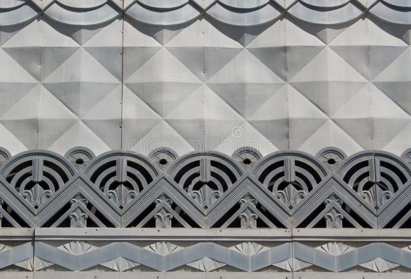 деталь стиля Арт Деко стоковая фотография rf