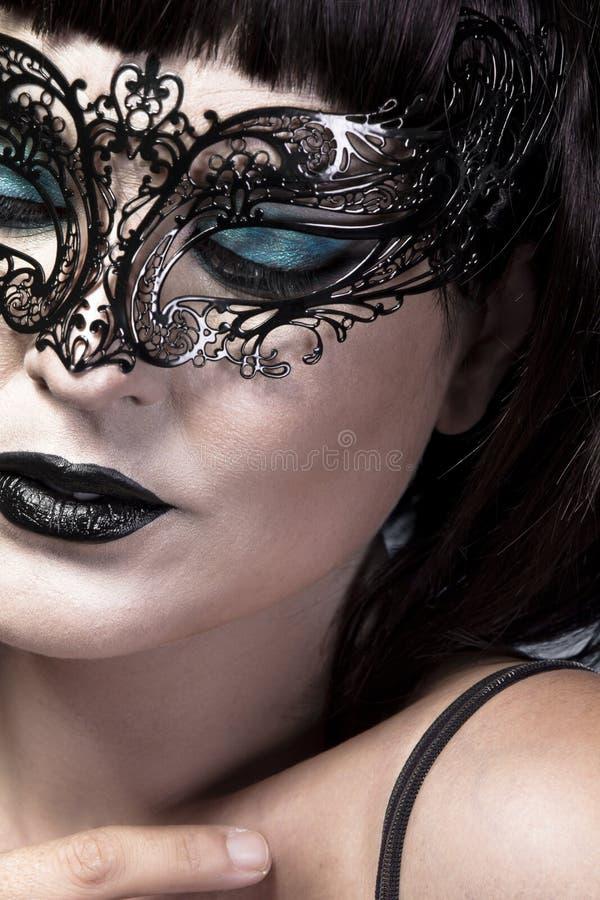Деталь стороны красивейшей и сексуальной женщины стоковые изображения