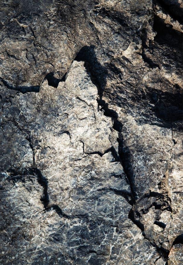 Деталь темноты - серый цвет - голубой утес стоковое изображение rf