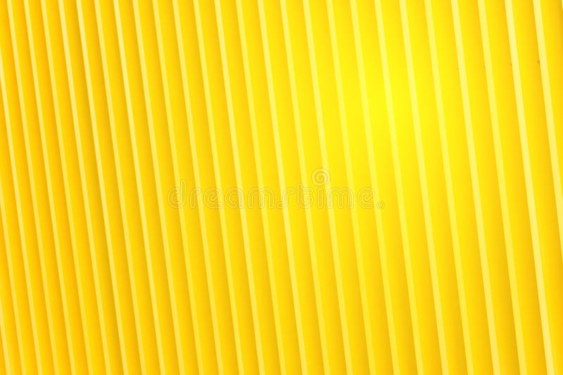 Деталь фасада здания желтого металла стоковое изображение
