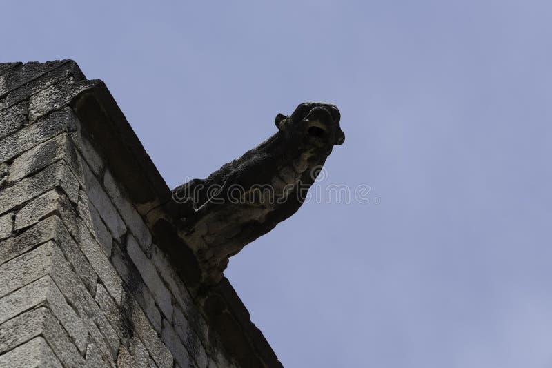 Деталь церков St Peter в Фигерасе, Испании стоковые изображения rf