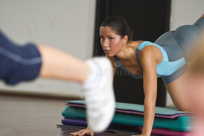 деталь aerobics стоковые изображения