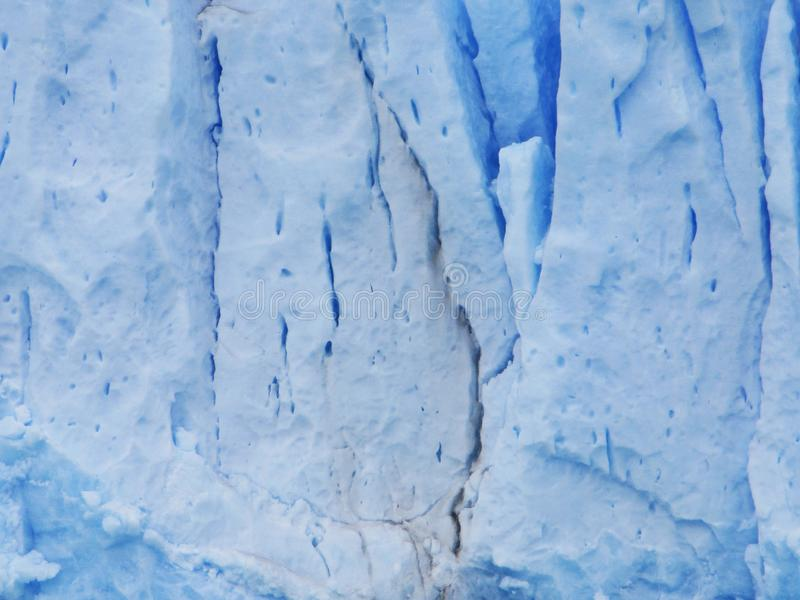 Деталь Glaciar Perito Moreno Serac, Santa Cruz Аргентина стоковые изображения