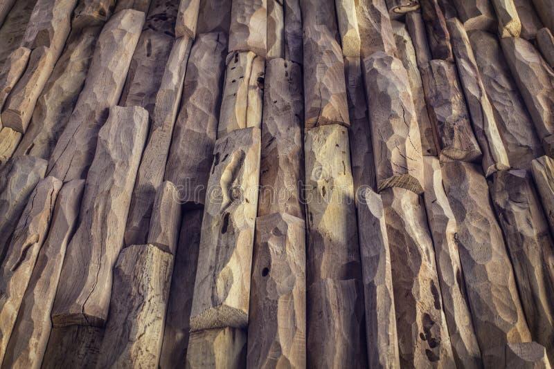 Деталь handmade деревянной панели стоковое фото