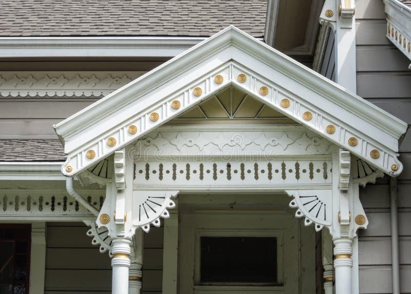 Детали викторианской архитектуры стоковые фотографии rf