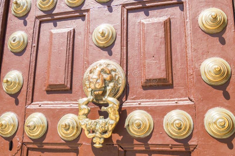 Детали входной двери theHospital de Сантьяго, Ubeda, Jaen стоковые фотографии rf