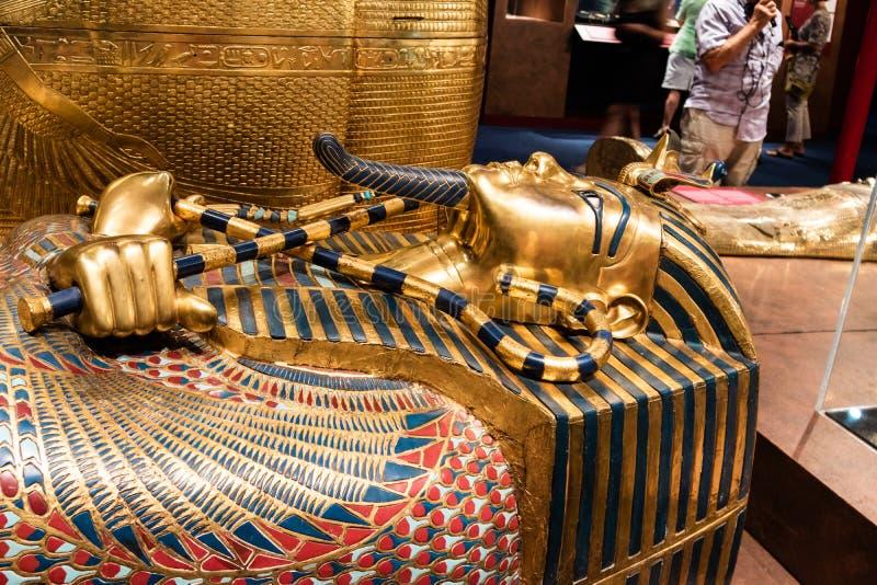 Детали от египетского музея стоковое изображение
