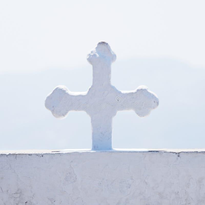 Детали правоверного греческого креста стоковые изображения